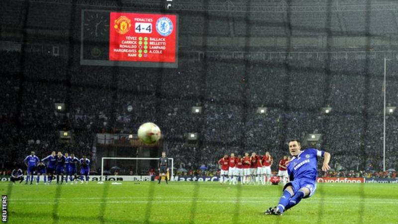 picture of a penalty shootout